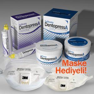 DentapressA A Tipi Silikon Ölçü Takım