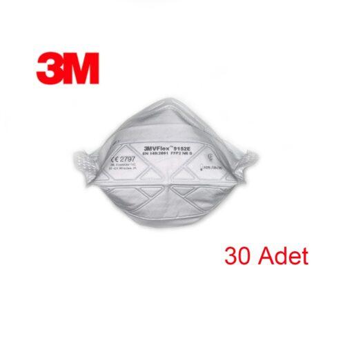 3M VFlex Ventilsiz Maske 30 Adet