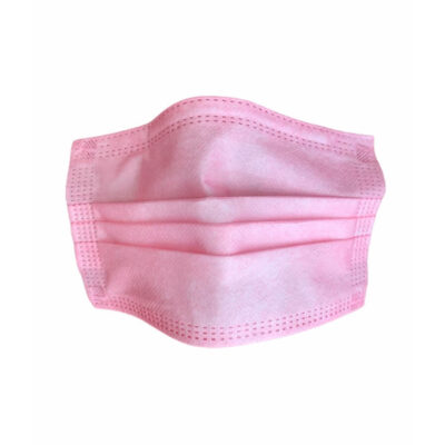 3 Katlı Cerrahi Maske Pembe